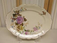 """Vintage Rosenthal Lavender Daphne Pompadour 15"""" Serving Platter MINT MINT"""