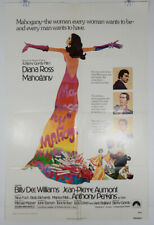 MAHOGANY - 1975 ORIGINAL MOVIE POSTER - DIANA ROSS - BILLY DEE WILLIAMS