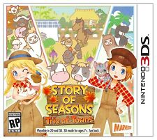 Story of Seasons: Trio of Towns [Nintendo 3DS, Grow Crops Raise Animals] NEW