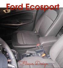 Bracciolo ecopelle nero Ford EcoSport con portaoggeti regolazione in lunghezza +