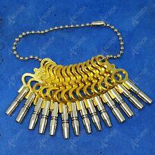 Pocket Watch Keys Set 14 Pcs Vintage Antique Winding Square Keys Sizes 00-12 1ST