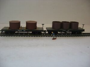 HO scale old time Civil War Confederate Virginia & Tennessee water tank cars!!