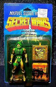 Vtg SECRET WARS Dr DOC DOCTOR DOOM Avengers Marvel Comics w Shield lot AFA IT!!