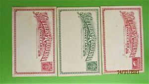 SET Souther Rhodesia. postal CARD