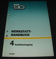 Werkstatthandbuch Saab 90 Kraftübertragung Schaltung Kupplung Getriebe ab 1985!