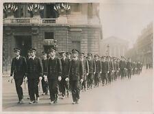 PARIS c. 1930 -Prise d'Armes Élèves École Navale de Bordeaux 14 Juillet- PRM 428
