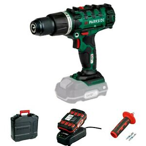 PARKSIDE 20V CORDLESS HAMMER DRILL WITH 1x 2Ah BATTERY & CHARGER - NEW