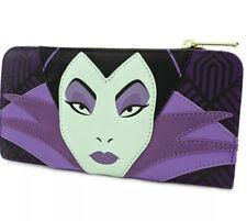 NWT Loungefly Disney Maleficent Villains Sleeping Beauty Princess Wallet Rare