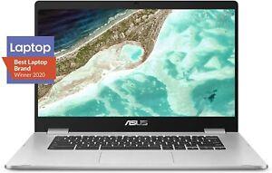 ASUS C523N Chromebook Intel Celeron N3350 1.10GH 4GB 32GB Laptop C523NA-DH02 NOB