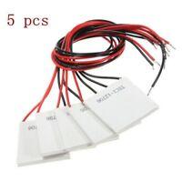 5PCS TEC1-12706 Heatsink Thermoelectric Cooler Cooling Peltier Plate 12V 60W