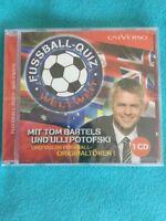 CD Fußball-Quiz Weltweit mit Tom Barrels & Ulli Potofski  Neu & OVP