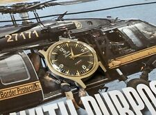 Swiss Made - Beautiful Vintage ARMY TITONI AirMaster 17J Manual -Good Condition
