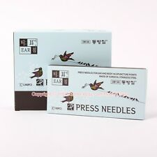 DONGBANG Ear and Body Acupuncture Disposable Press Needles 1,000pcs(100p*10Box)