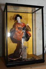Japanische Puppe, Geisha, japanese doll, 日本人形, made in Japan, Maker: Kyugetsu/久月
