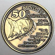 N620    NASA  SPACE  COIN /  MEDAL, 50th ANNIVERSARY OF APOLLO 11
