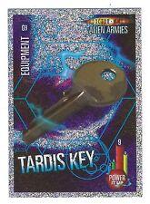 Doctor Who Alien Armies Chase Card Glitter Card G9 TARDIS Key Panini Good