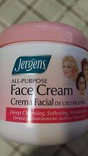 1 jar Jergens All Purpose Face Cream Crema Facial 3 caritas net wt 15 oz(425 g)