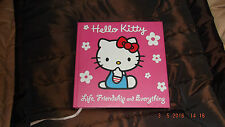 HELLO KITTY - LIFE, FRIENDSHIP AND EVERYTHING. hard back