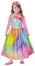 amscan 9902375 Barbie Kostüm Rainbow Magic 5-7 Jahre Gr. 116