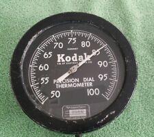 Vintage Kodak Precision Darkroom Thermometer Taylor Instrument Rochester NY