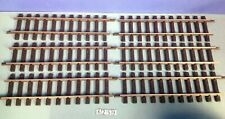 (K259.1) playmobil 6 rails droits laiton LGB ref 1000 4355