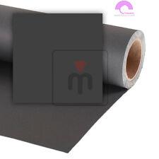 Colorama fondale fotografico in carta 2,72m x 11m nero (Black _68)