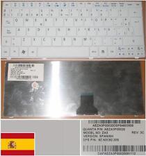 CLAVIER QWERTY ESPAGNOL ACER ASPIRE One 751 ZA3 9Z.N3C82.20S AEZA3P00020 Blanc