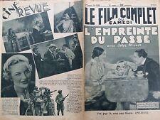 "LE FILM COMPLET 1934 N 1532 "" L' EMPREINTE DU PASSE "" JOHN STUART et MARY GLYNNE"
