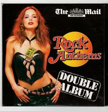(GU403) Rock Anthems, 15 tracks various artists - The Mail On Sunday CD
