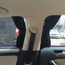 2x Car UV Sun Shade Curtains Sides Window Visor Mesh Cover Shield Protection
