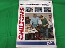 CHILTON  Repair / Service Manual Ford engine overhaul Repair Manual 8793