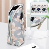 Portable USB Insulated Bag Milk Bottle Warmer Adjustable Temperature Travel Cups