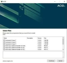 Sony Loops for Acid over 12gb Wav files Read Description Great For Podcast/Radio