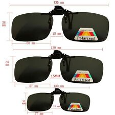 Man Size M Sunglasses Big Clip On Flip Up for Driving Glasses UV 400 Protective