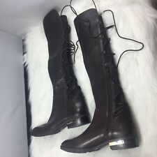 Vince Camuto Womens Parle Leather Closed Toe Knee High Fashion Boots size 7