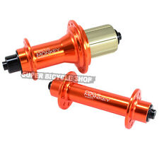 Circus Monkey HRW Road Hubs, 24 Hole,1 Pair, Orange