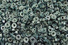 (1000) Serrated Flange #10 Hex Machine Screw Lock Nuts 10-32