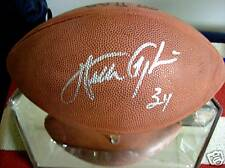 WALTER PAYTON. AUTOGRAPHED OFFICIAL NFL FOOTBALL. MIRRORED CASE. W/ STEINER COA.