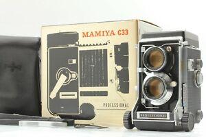 【Almost MINT in Box】MAMIYA C33 Pro TLR Film Camera Sekor 105mm f/3.5 Lens JAPAN