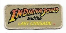 Indiana Jones and the Last Crusade Movie Logo Embroidered Patch
