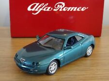 Nice  1/43 Alfa Romeo GTV Green Gift Set Solido Tin Box Oulins France