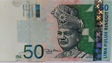 Malaysia 50 Ringgit Banknote Year 2001, A VERY FINE & NICE Note