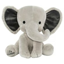 Ollie Omron Super Soft Plush Grey Elephant Toy
