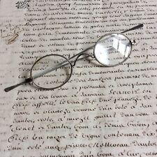 Ancienne Paire de Lunettes Binocles début XXème - Old Glasses