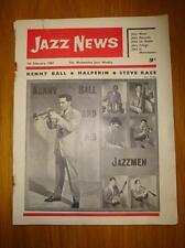 JAZZ NEWS 1962 FEB 7 UK MUSIC MAGAZINE KENNY BALL