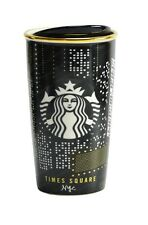 Starbucks New York Times Square Broadway Ceramic Double Wall Traveler Mug Cup