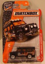 Matchbox 2017 MBX #84/125 - Land Rover Defender 110 BLACK NEW!! QUANTITY