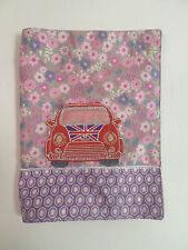 Gb uk voiture rouge jolie housse livre note pad de protection binder cover cadeau #14L399