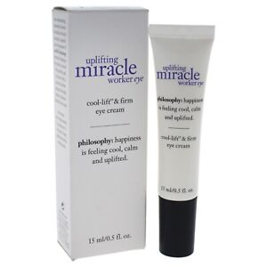 Philosophy Uplifting Miracle Worker Eye Cool-Lift & Firming Eye Cream .5 OZ New
