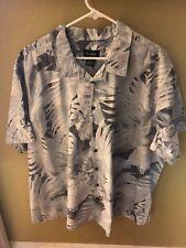 1XL dress mens shirt Harbor bay brand new Hawaiian theme